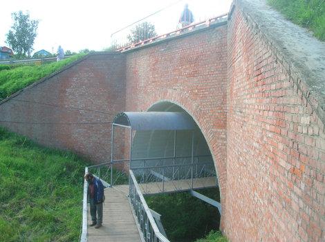 Мост к источнику Саввы Сторожевского