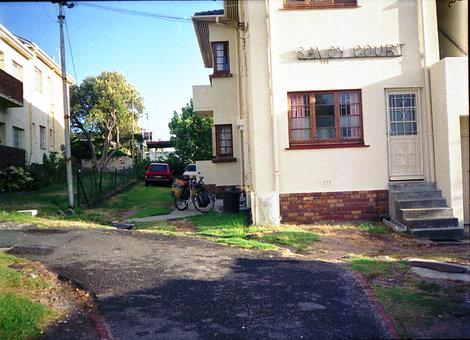 Дом в Кейптауне. Здесь я снимал квартиру.