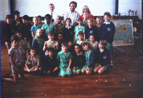 Школа. Встреча с школьниками в Кейптауне.