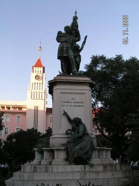 Монумент во всей красе