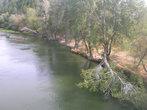 Вид на Северский Донец с моста