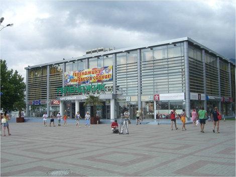 Здание торгового центра