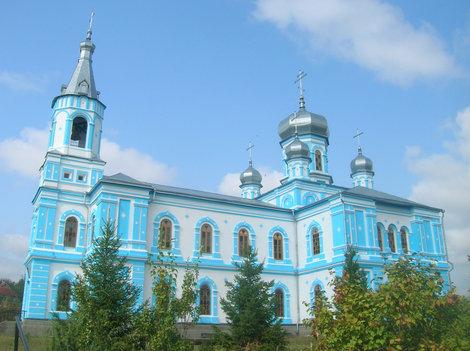 Восстановленная церковь в Краснокутске