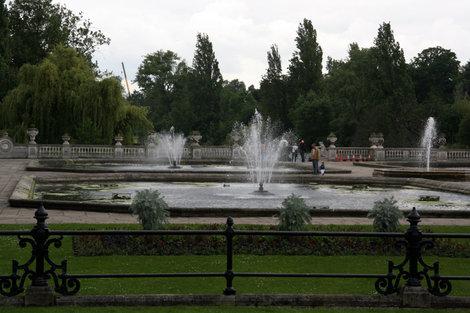 фонтаны в лондонском Гайд парке