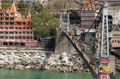 Ришикеш, мост Лакшман-Джула