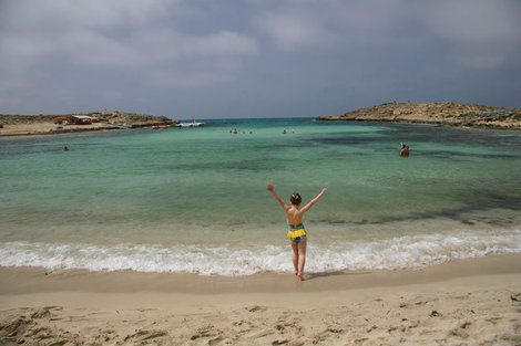 пляж отеля Pavlo Napa Beach Hotel 4*