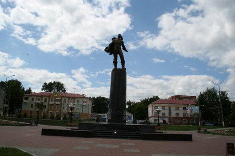 Памятник Героям-Стратонавтам.