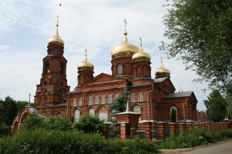 Никольская церковь на Посопе.