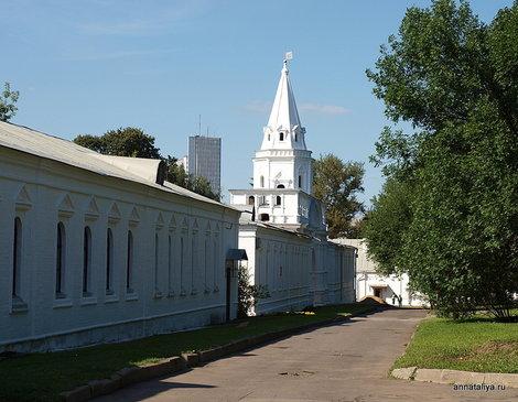 Вид на Задние ворота Государева двора