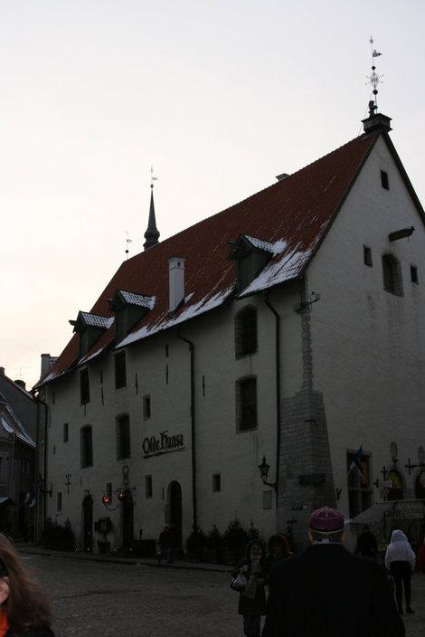 ресторан Olde Hansa в центре Таллина