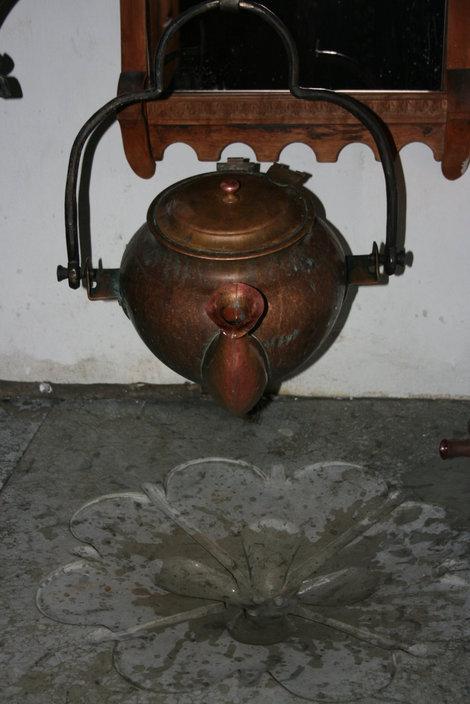 туалет в ресторане Olde Hansa