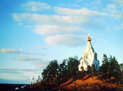 Никольский храм Никольского скита — духовный страж Валаама при входе в Монастырскую бухту