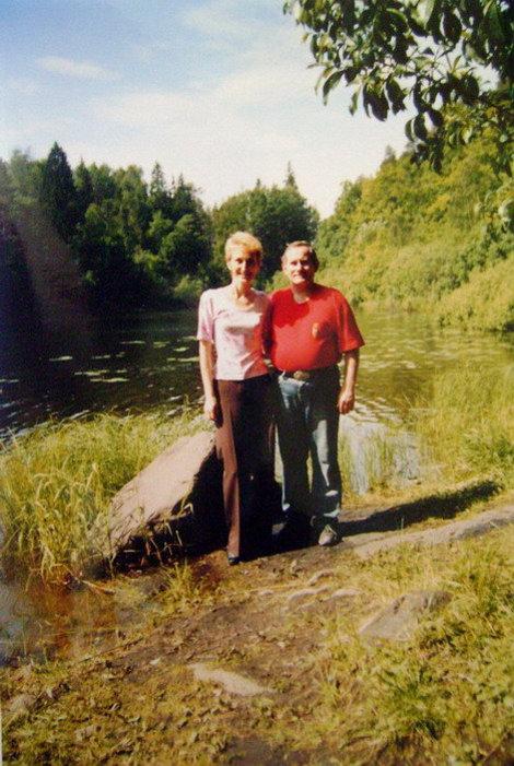 На берегу озера Сисиярви — одного из ожерелья живописных валаамских озер