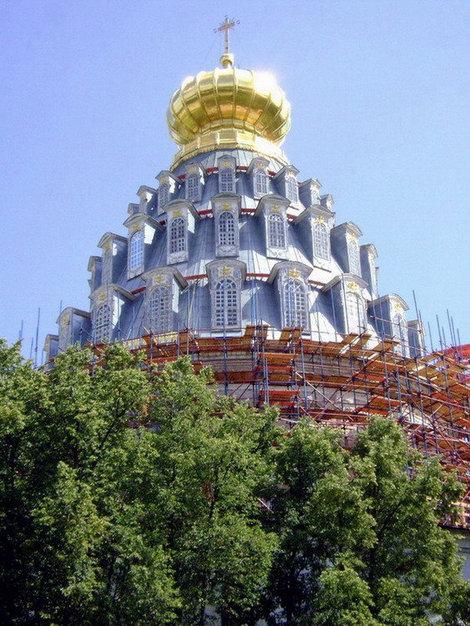Новый Иерусалим. Шатер ротонды Воскресенского собора