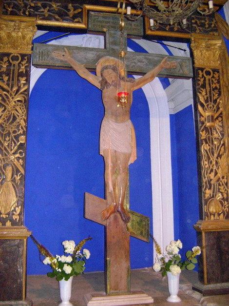 Новый Иерусалим. Голгофа (место распятия Христа) в Воскресенском соборе