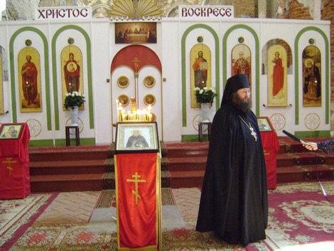 Настоятель Воскресенского Ново-Иерусалимского мужского монастыря игумен Фиофелакт