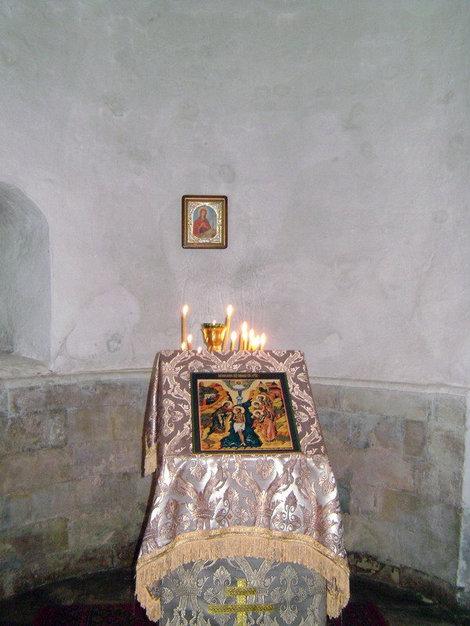 Новый Иерусалим. Церковь святых равноапостольных Константина и Елены. Место Воздвижения Животворящего Креста Господня