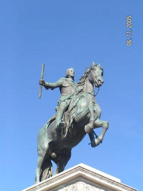 Филипп IV на коне