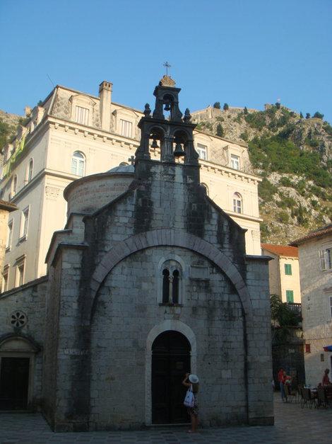 Типичная церковь сербской православной церкви