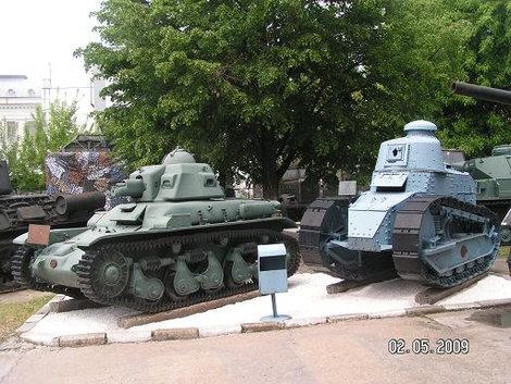 Ископаемые танки