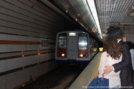 Сеульское метро. Поезд