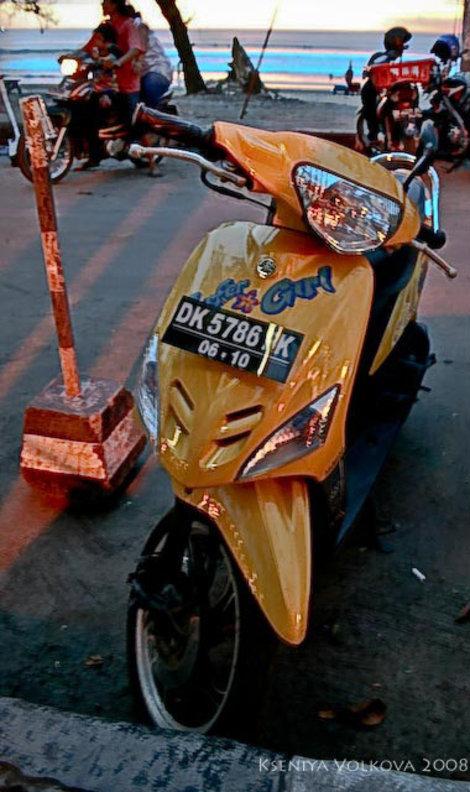 серф-байк на Бали