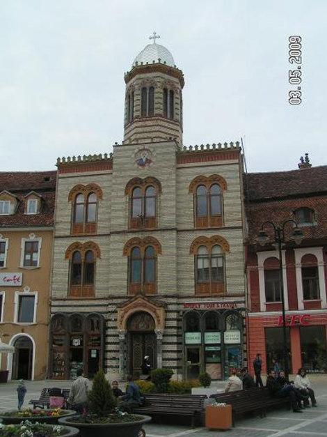 Здание церкви лицом