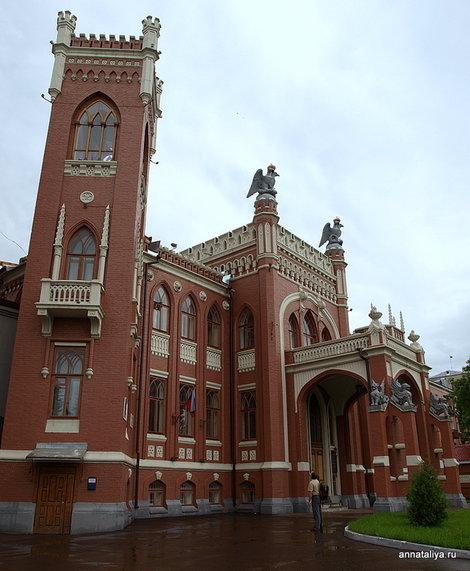 Дом Тихона Булычева, ныне ФСБ
