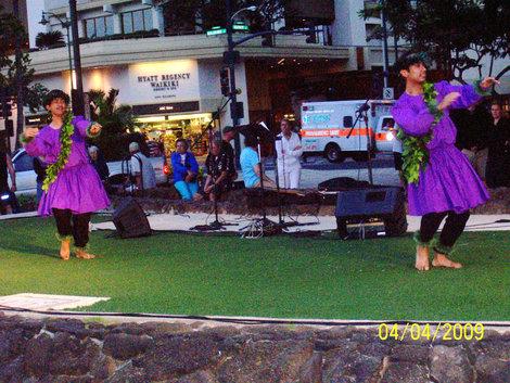 Гавайские танцы