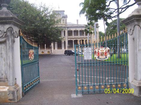 Королевский дворец Иолани