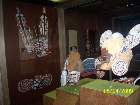 Ритуальные маски в музее