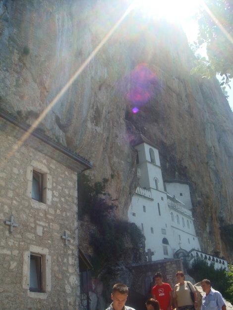 А вот и он, Острожский монастырь