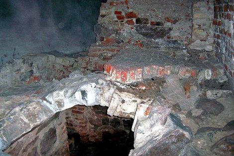 Обнаруженные остатки средневекового города