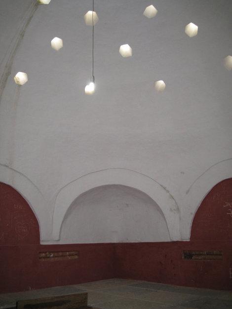 Собственно восстановленная турецкая баня. Мыльный зал.
