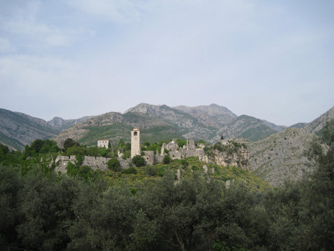 Вид на Старый Бар