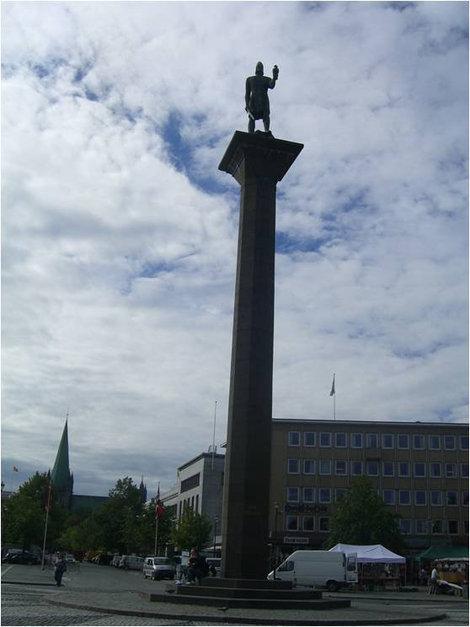 Памятник королю викингов
