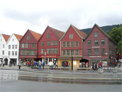 Веселые домики квартала Брюгген