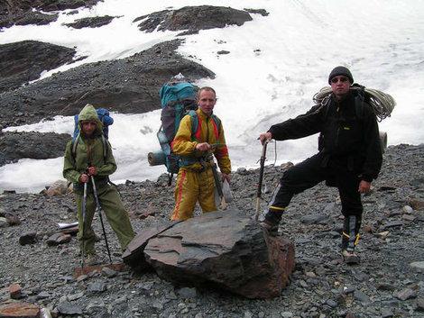 Участники моей группы (слева — направо): Анна Манукянц (12 лет), Андрей Долгов, Виктор Лубашов