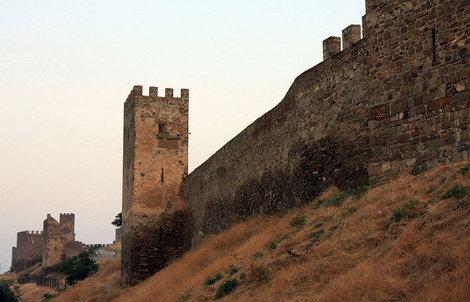 Генуэзская крепость.