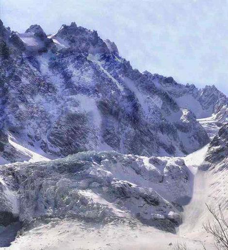 Первая ступень Цейского ледопада