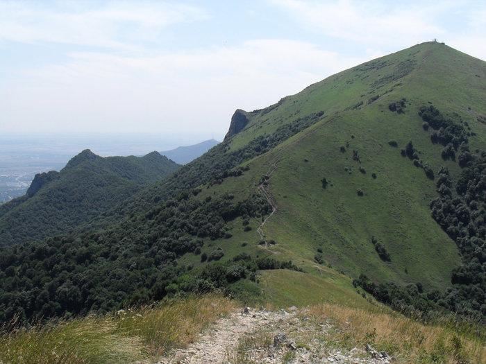 вид на самую высокую вершину Бештау