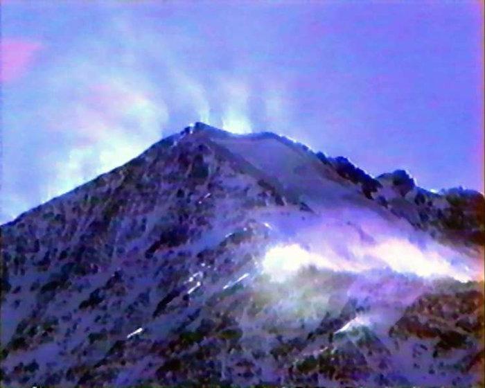 Вид на вершину с севера