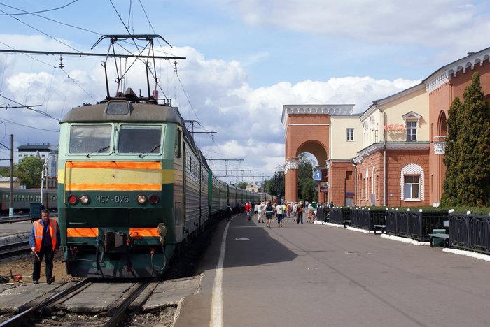 Стоянка в Орле по пути в Крым