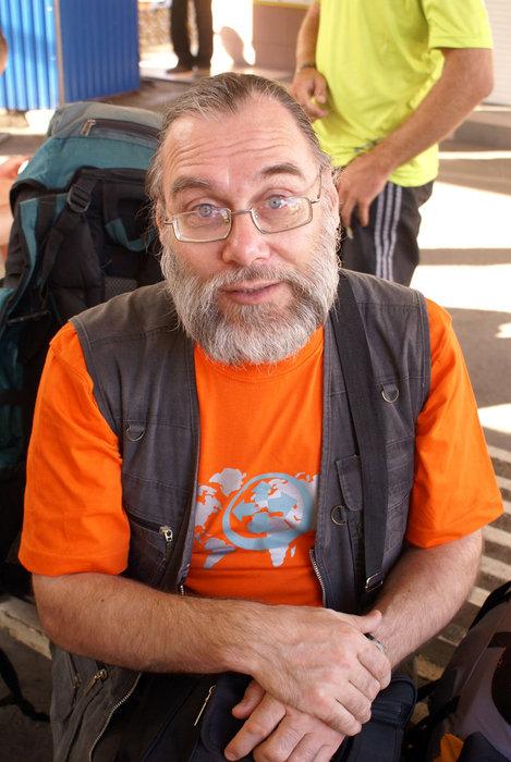 Известный путешественник Владимир Иванов