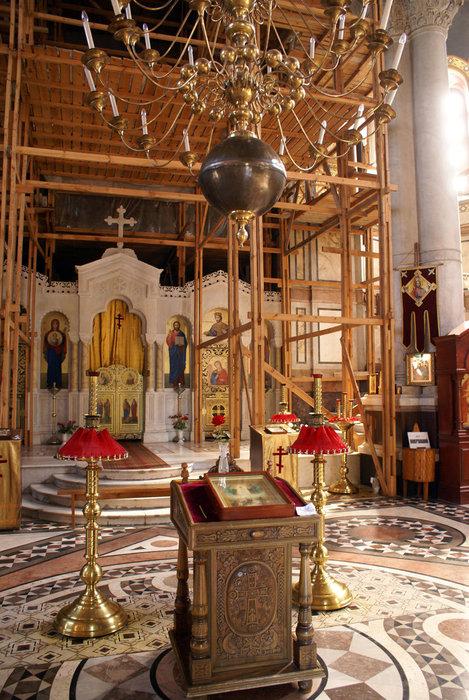 Реставрация Владимирского собора в Севастополе