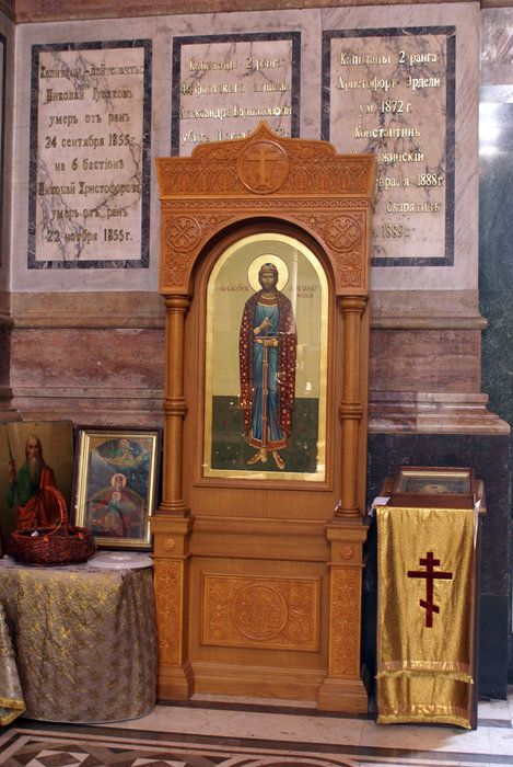 Икона во Владимирском соборе в Севастополе