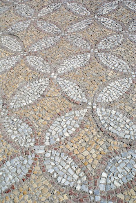 Фрагмент напольной мозаики