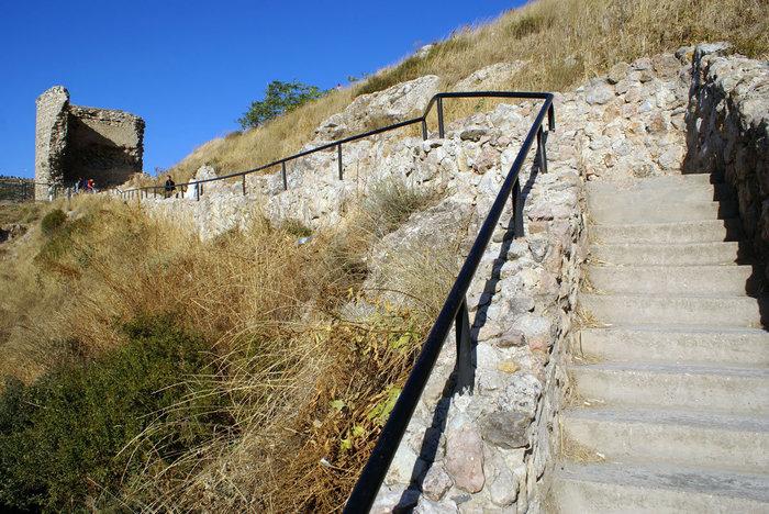 Лестница наверх в крепость