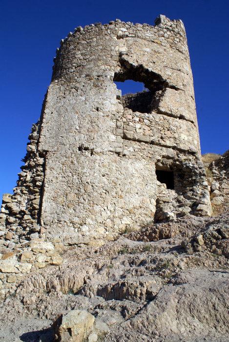 Двухэтажная башня в Балаклаве