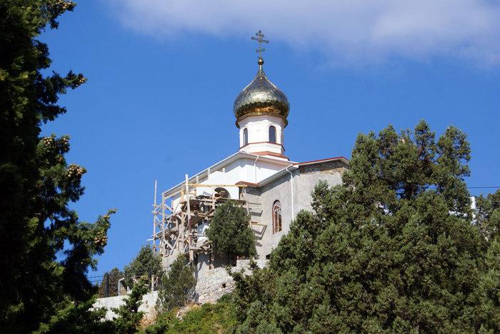 Недостроенная церковь, Симеиз